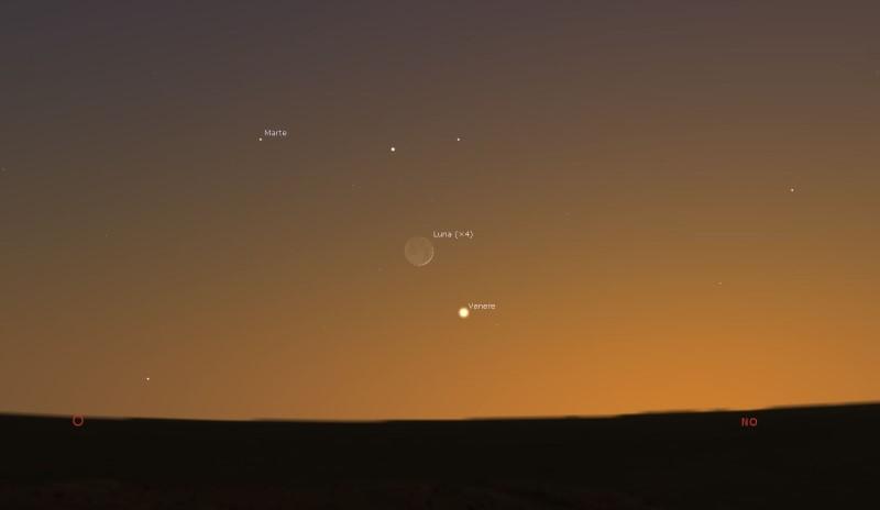 12_Congiunzione_Luna-Venere-Marte-12-giugno-2021