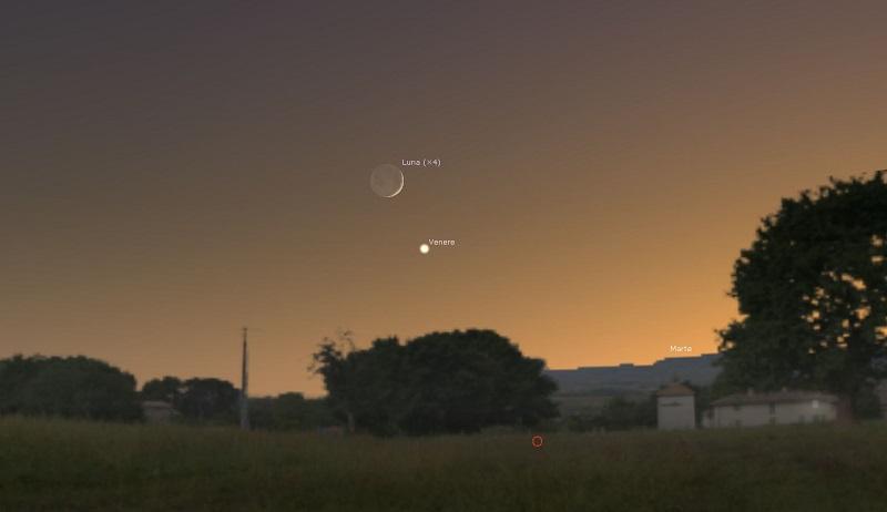 11-agosto-2021-Congiunzione-Luna-Venere