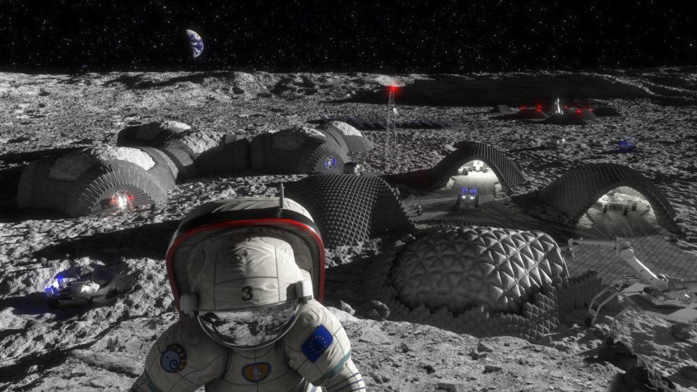 La futura base sulla Luna